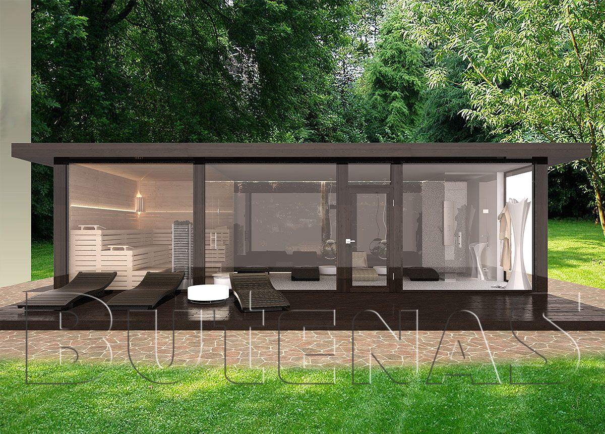 ob modernes wohnhaus aus holz innensauna mit glasfront oder klassisches gartenhaus ihr traum. Black Bedroom Furniture Sets. Home Design Ideas