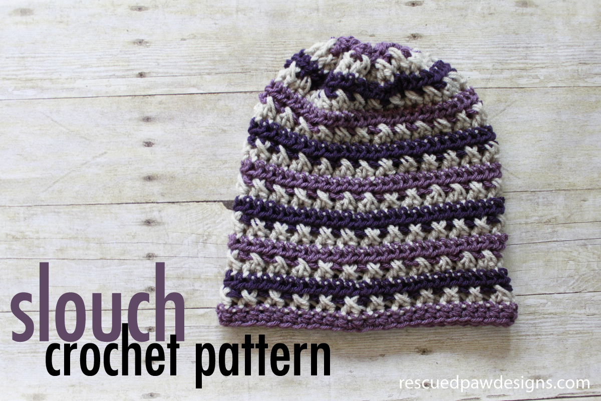 Sugared Plum Slouch Crochet Pattern | Gorros