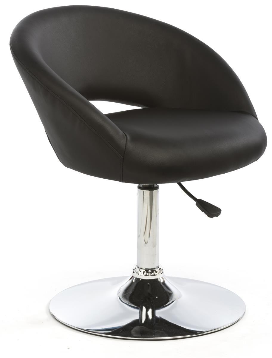 Adjustable Stool W Leatherette Seat 360 176 Swivel