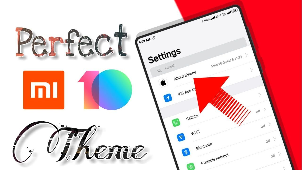 Perfect ios theme for miui 10 | Best IOS theme ever | Top themes for
