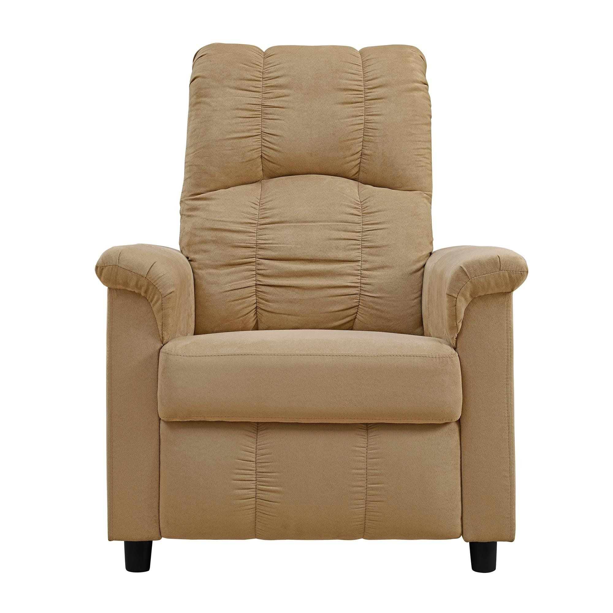Dorel Living Slim Recliner Beige To View Further For This Item Visit The Image Link This Is An Affiliate Link In 2020 Dorel Living Recliner Recliner Chair