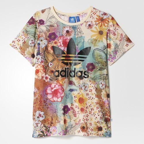 09428853e41 Camiseta Confete Trefoil Farm - Multicores adidas