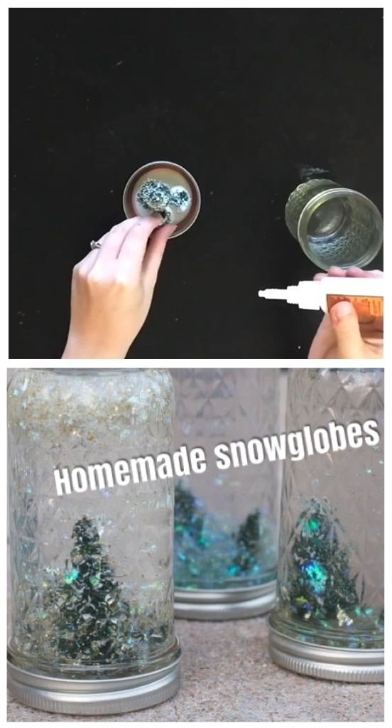 Beautiful DIY Snow Globe Tutorial