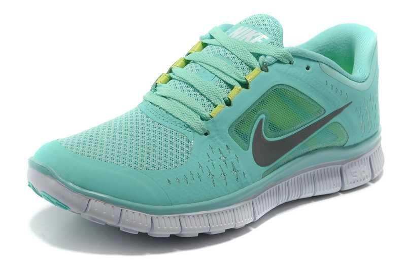 24a7dd04408 Nike Free Run 3 Womens Size 9 Tropical Twist Reflect Silver Pure Platinum  Neon Green Nike