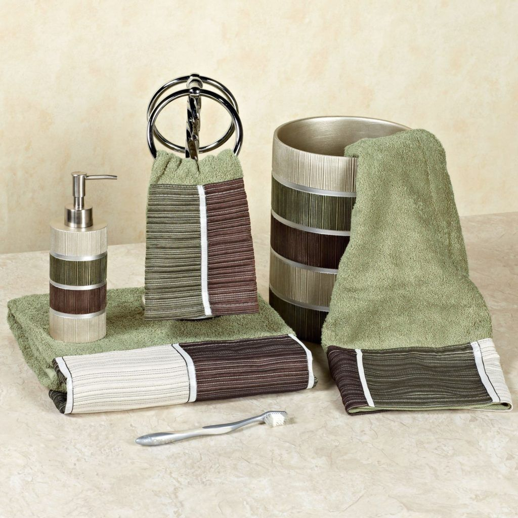 Sage Green Bathroom Chroom Sets Bathroom Accessories Pinterest - Sage green bathroom accessories