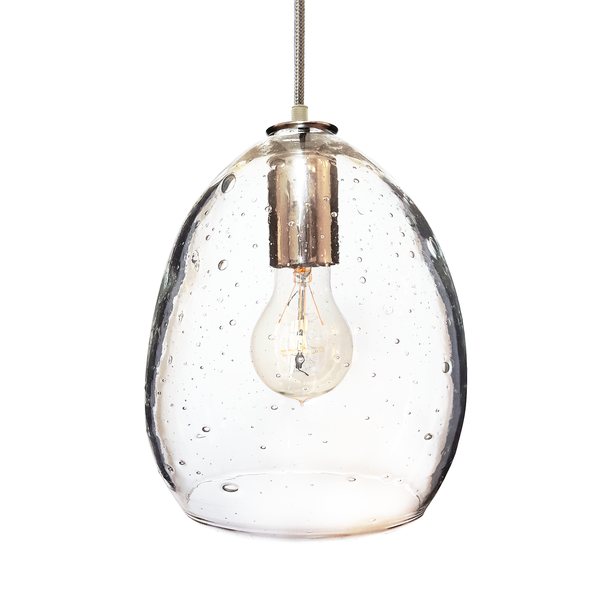 custom design your blown glass pendant light design