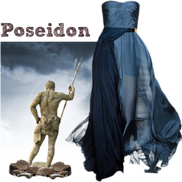 """Greek God - Poseidon"" by liz-7695 on Polyvore   My Style ... Percy Jackson Poseidon Costume"