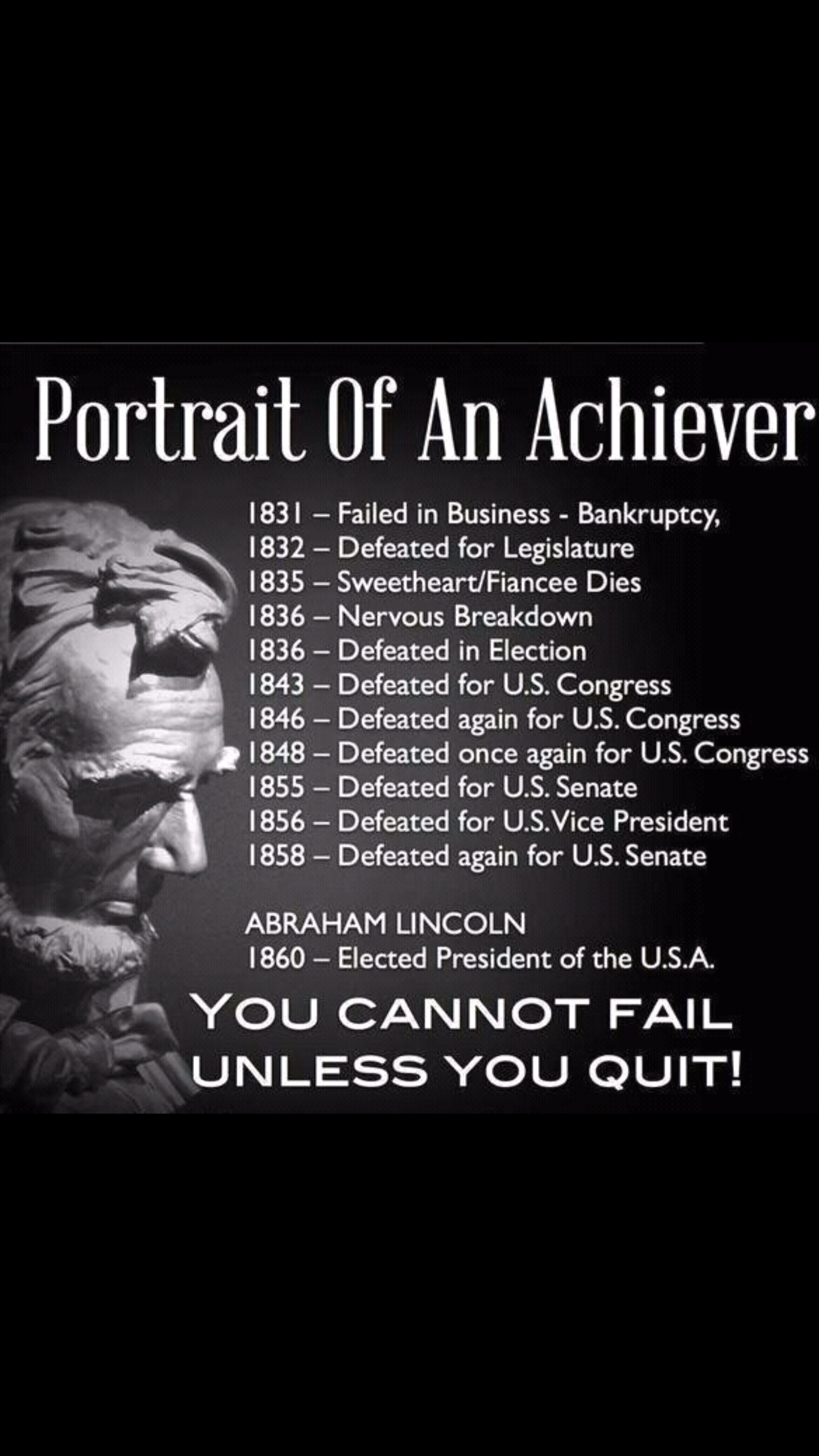 Abraham Lincoln The Epitome Of Perserverance