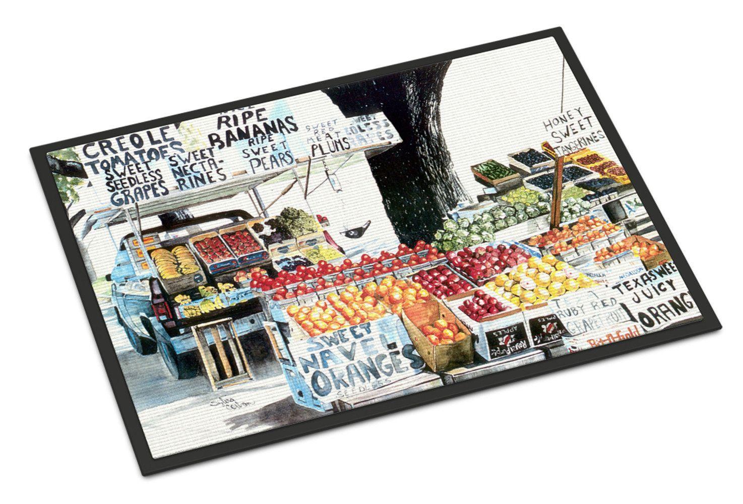 Fruit Stand Indoor or Outdoor Mat 24x36 8054 Doormat