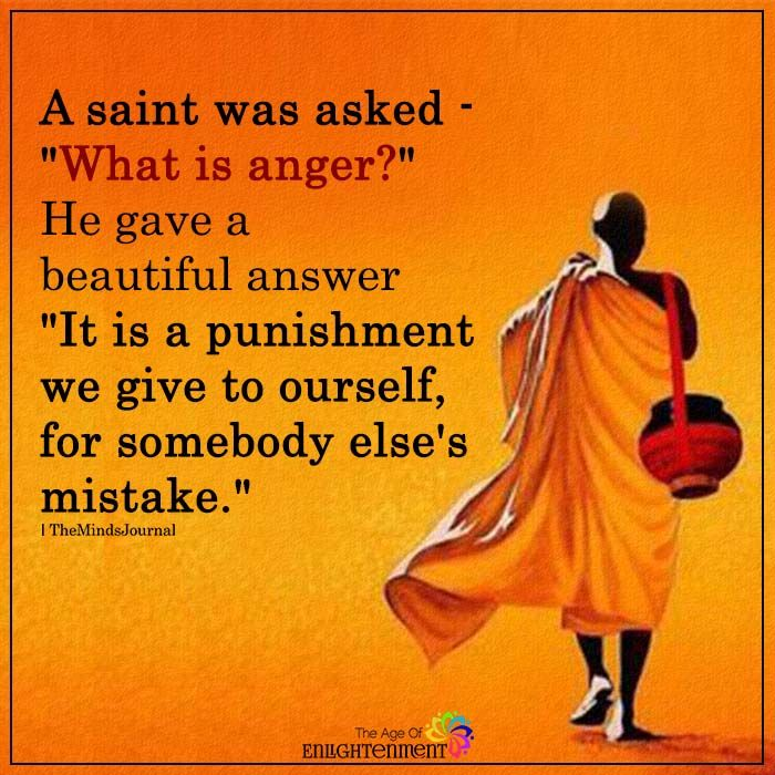 A Saint Was Asked: