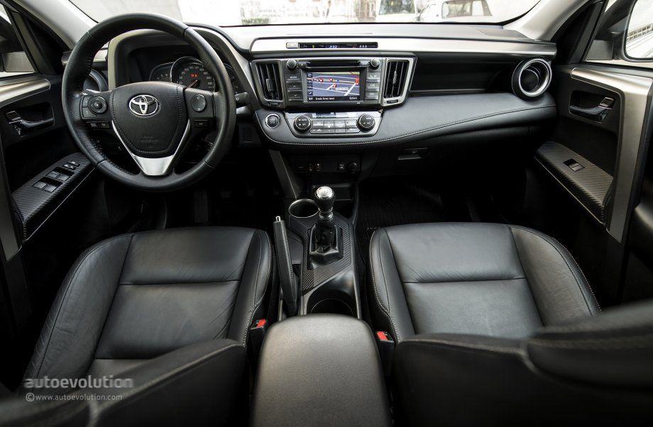 2014 TOYOTA RAV4 Interior: Front Http://www.autoevolution.com/