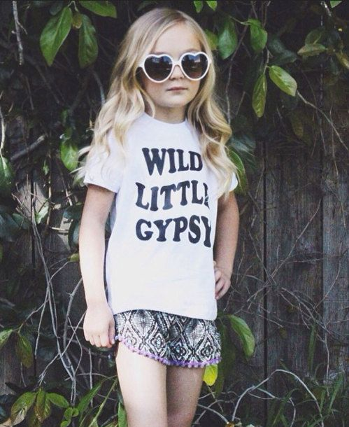8bf2630c1 Wild Little Gypsy T Shirt Kids T Shirt by HarlowJade on Etsy ...