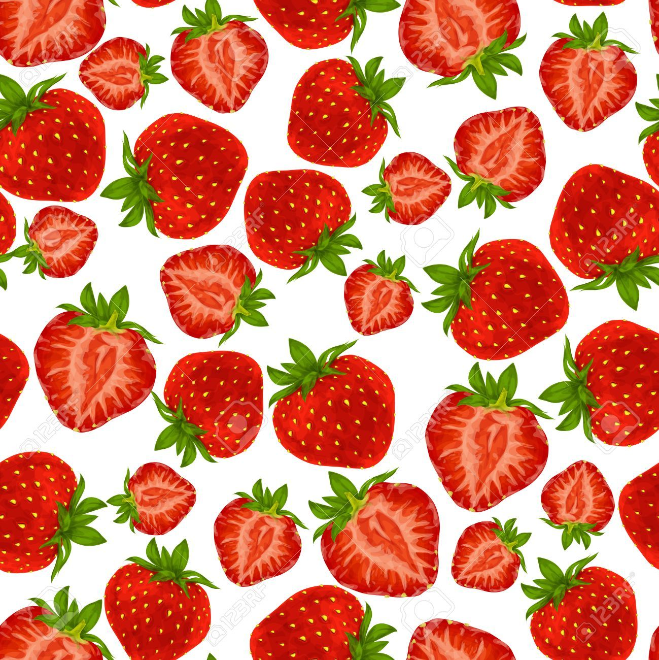 Related image Strawberry background, Seamless patterns