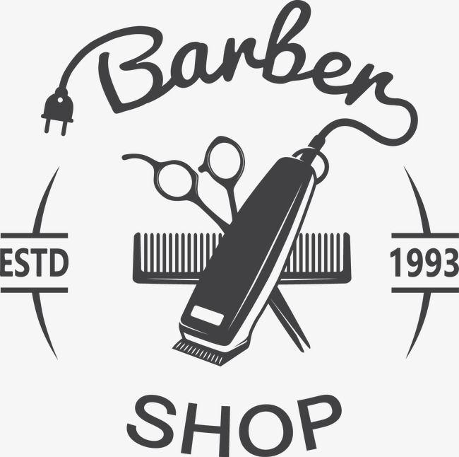 Barber Shop Logo Vector Decoracao O Barbeiro Imagem Png E Vetor Para Download Gratuito Barber Shop Sign Barber Logo Barbershop Design