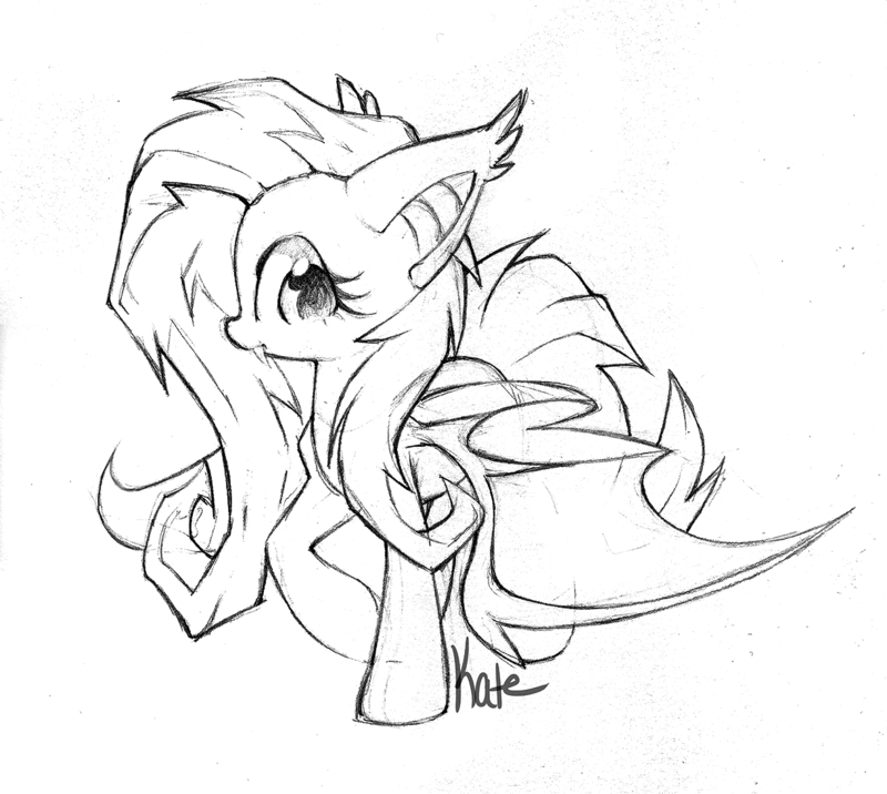 Flutterbat | My little pony drawing, Pony drawing, Mlp my ...
