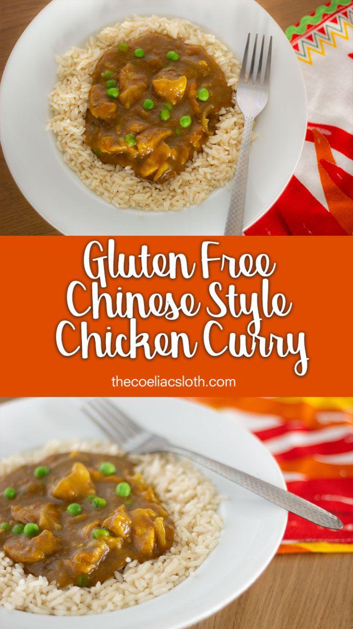 Gluten Free Chinese Style Chicken Curry Recipe Gluten Free Chinese Recipes Curry Chicken Recipes