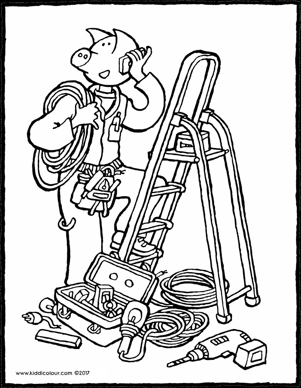 Pin Op Jobs Coloring Pages