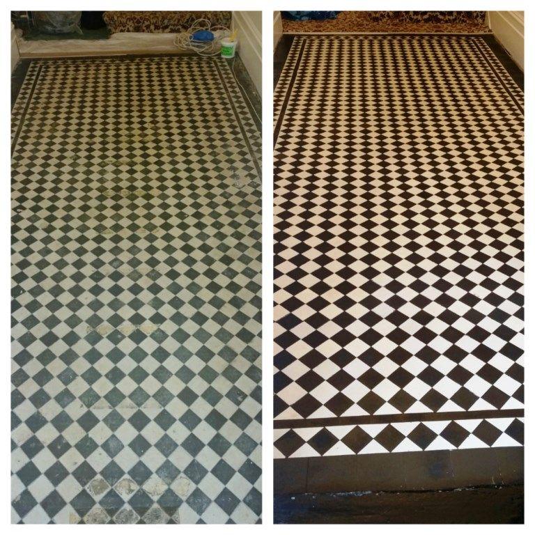 Victorian Checkered Floor Tiles Tile Design Ideas