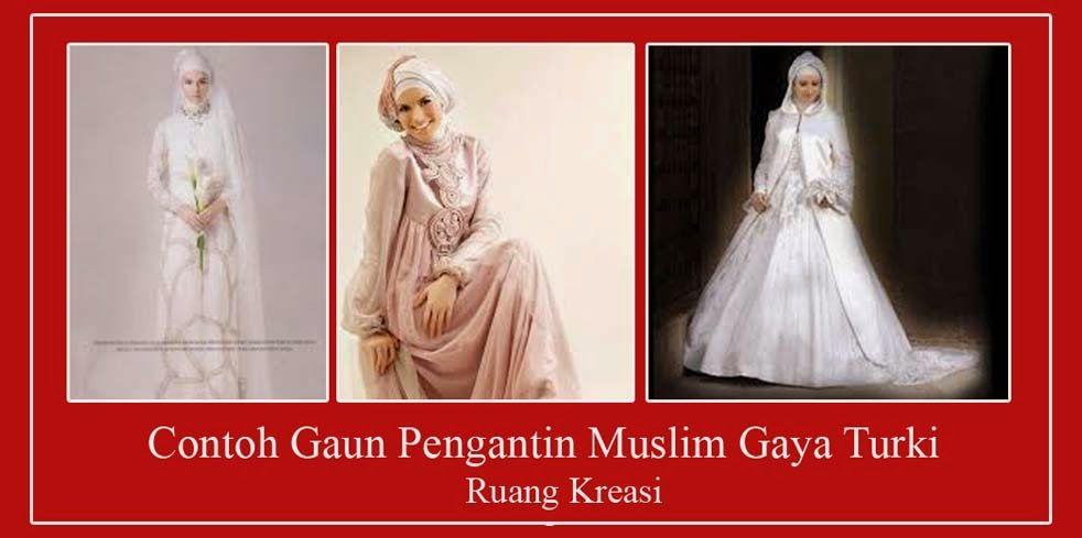 Gaun Pengantin Muslimah Elegan Gaun Pengantin Muslimah Syar I