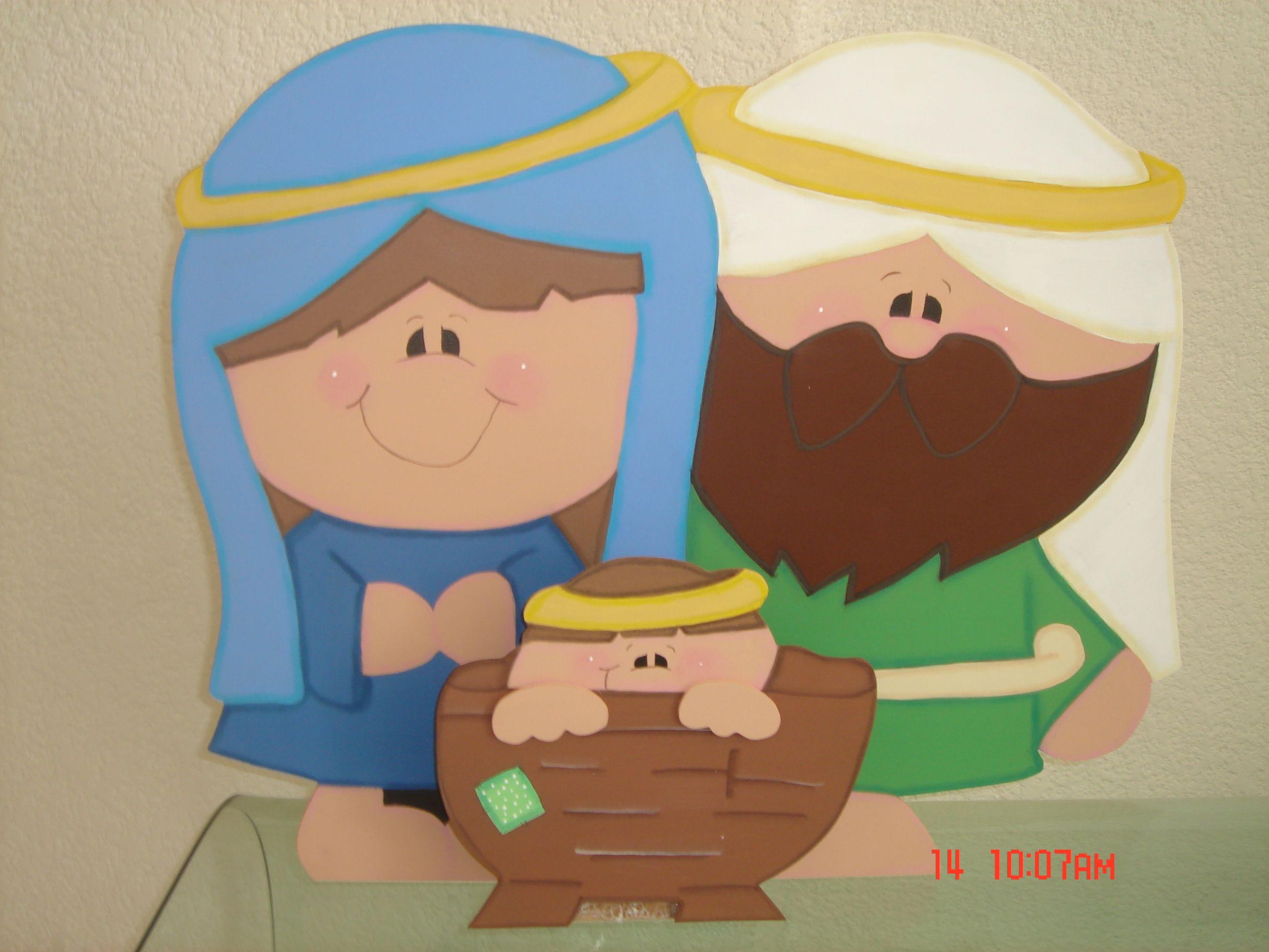 8875007fec4 Resultado de imagen para pesebre o nacimiento para calar Navidad Fomi