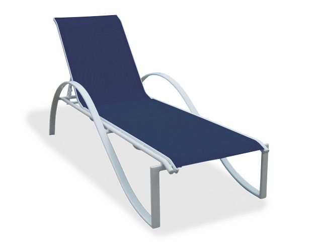 Best South Beach Aluminum Stacking Chaise Lounge Pool Lounge 400 x 300
