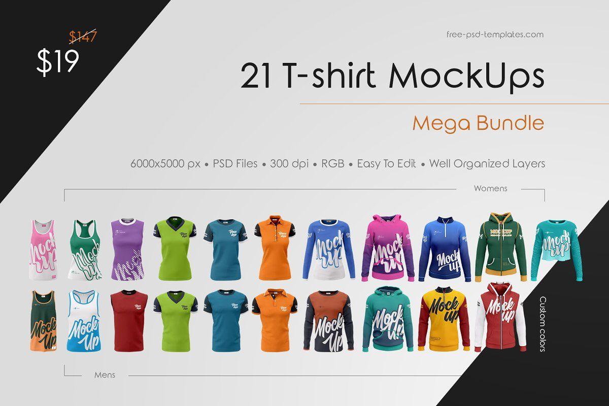 Download T Shirt Mockup Bundle Tshirt Mockup Shirt Mockup Mockup