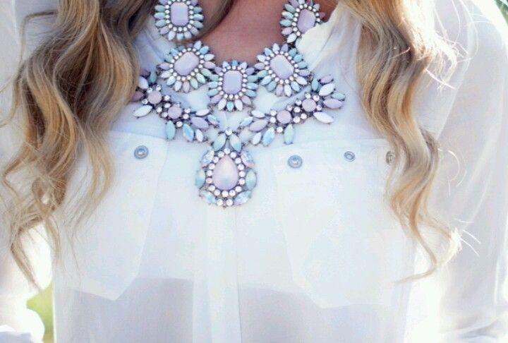 Loving statement necklaces