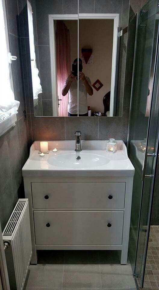 Salle de bain modèle moderne grise avt Mes réalisations clientèle - Salle De Bain Moderne Grise