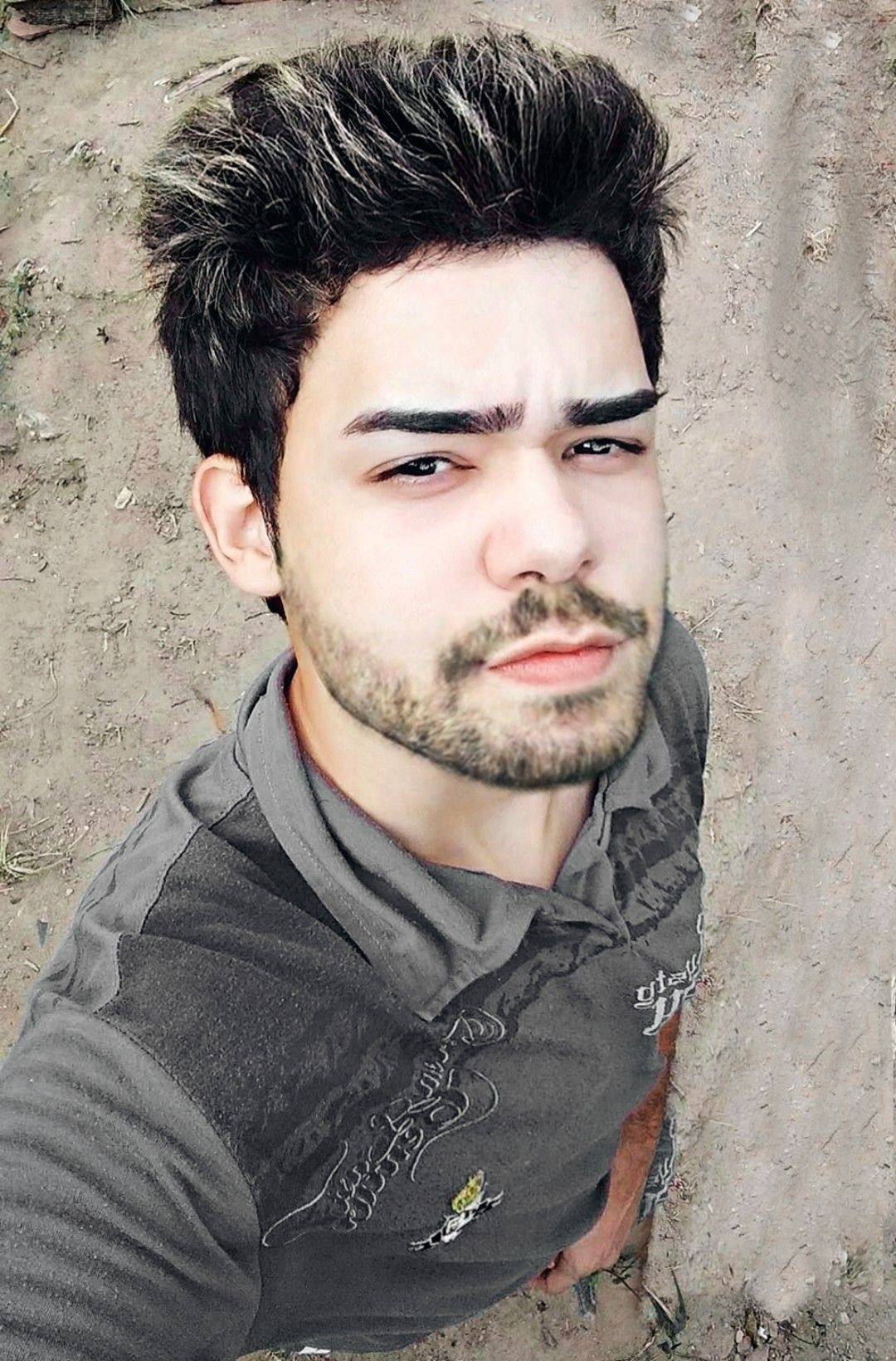Barba Boy Men Model Selfie Beautiful Cabelo Moda Garoto