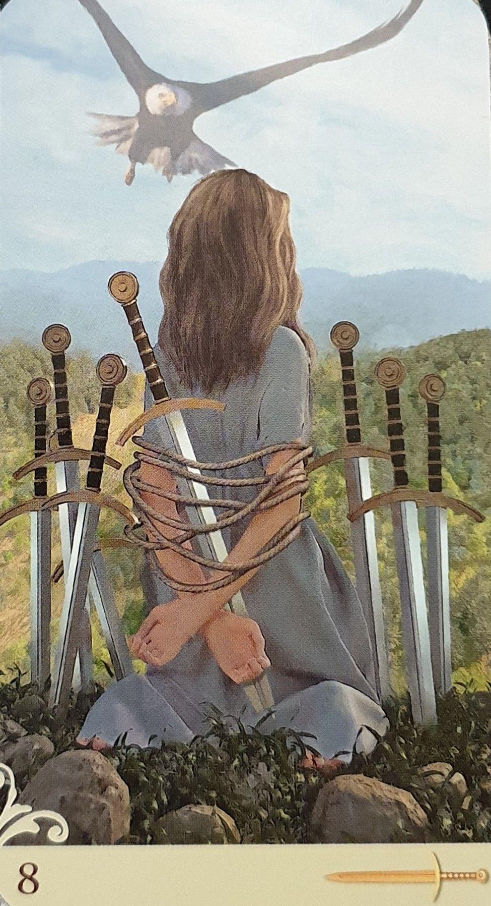 Vice-versa - Eight of Swords   Tarot in 2019   Tarot, Tarot