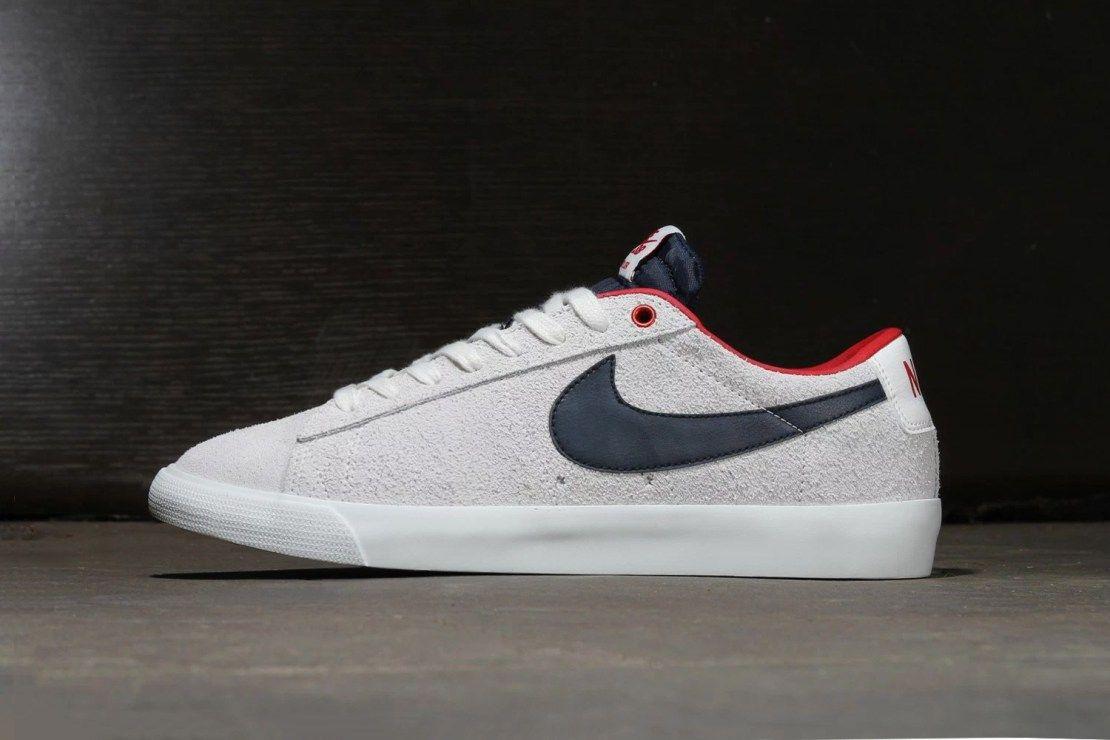 Nike SB Blazer Low GT Summit White