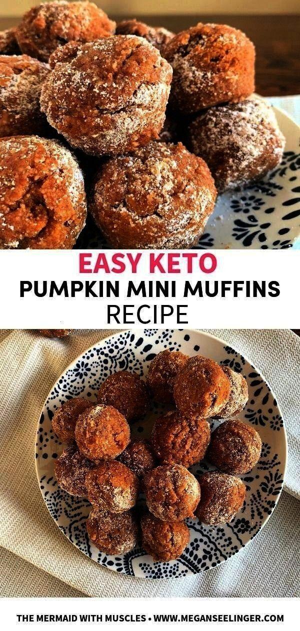 Muffin Minis -Easy Keto Pumpkin Muffin Minis -  Easy Healthy Avocado Tuna Salad Recipe - A healthy