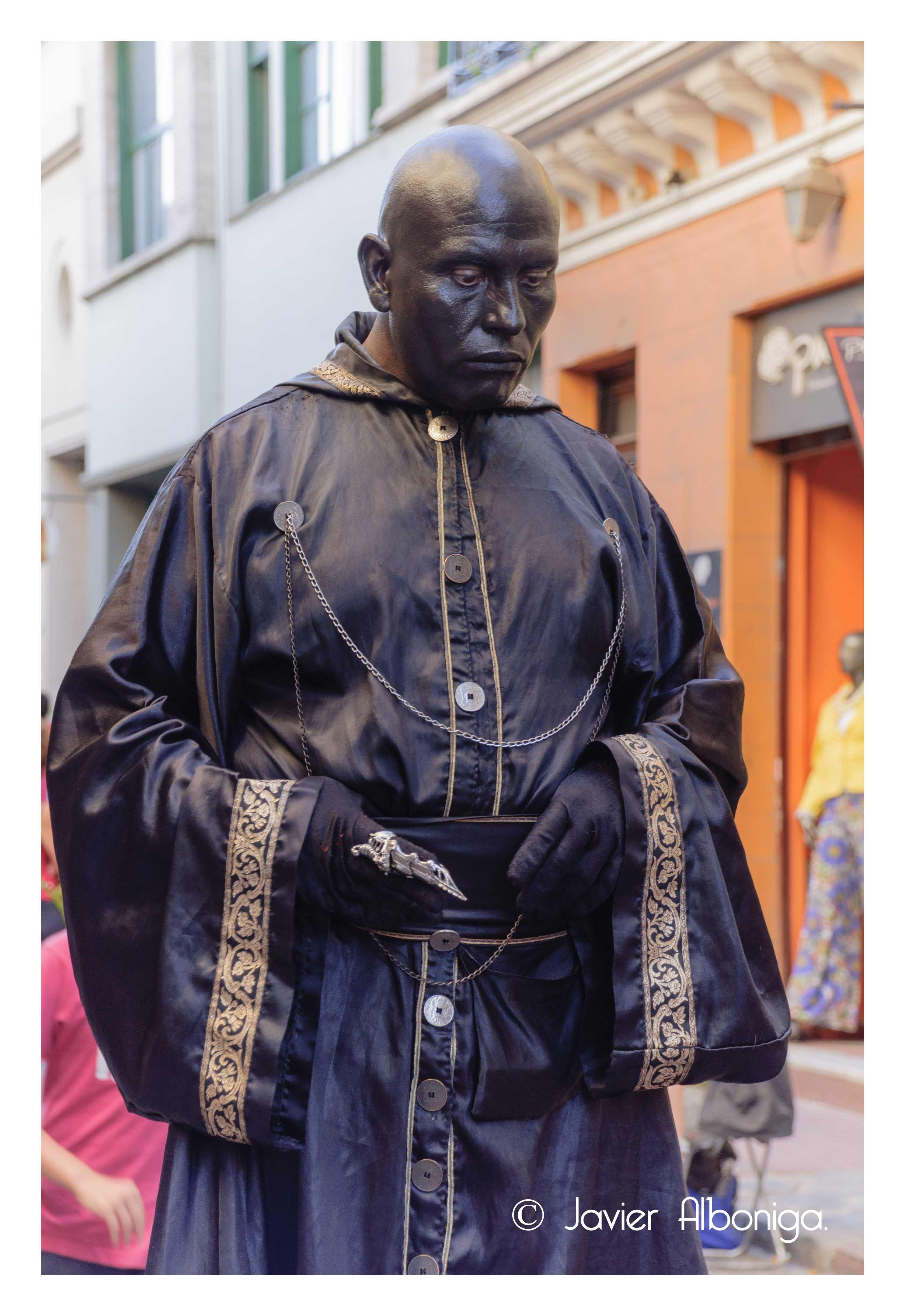 Estatua viviente (San Telmo)