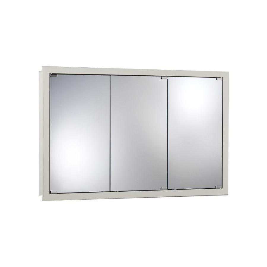 Shop Broan 48 In X 30 In Classic White Particleboard Surface Mount