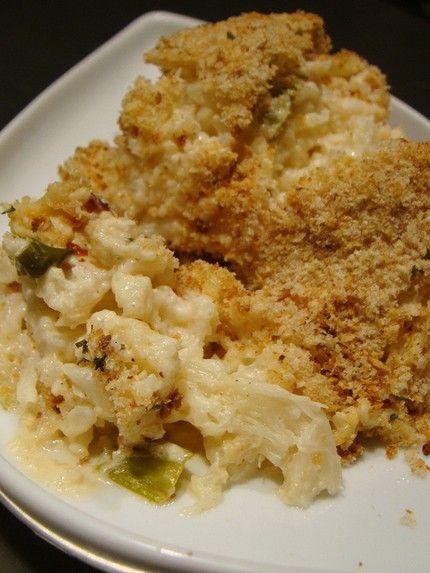 weight watchers cauliflower au gratin