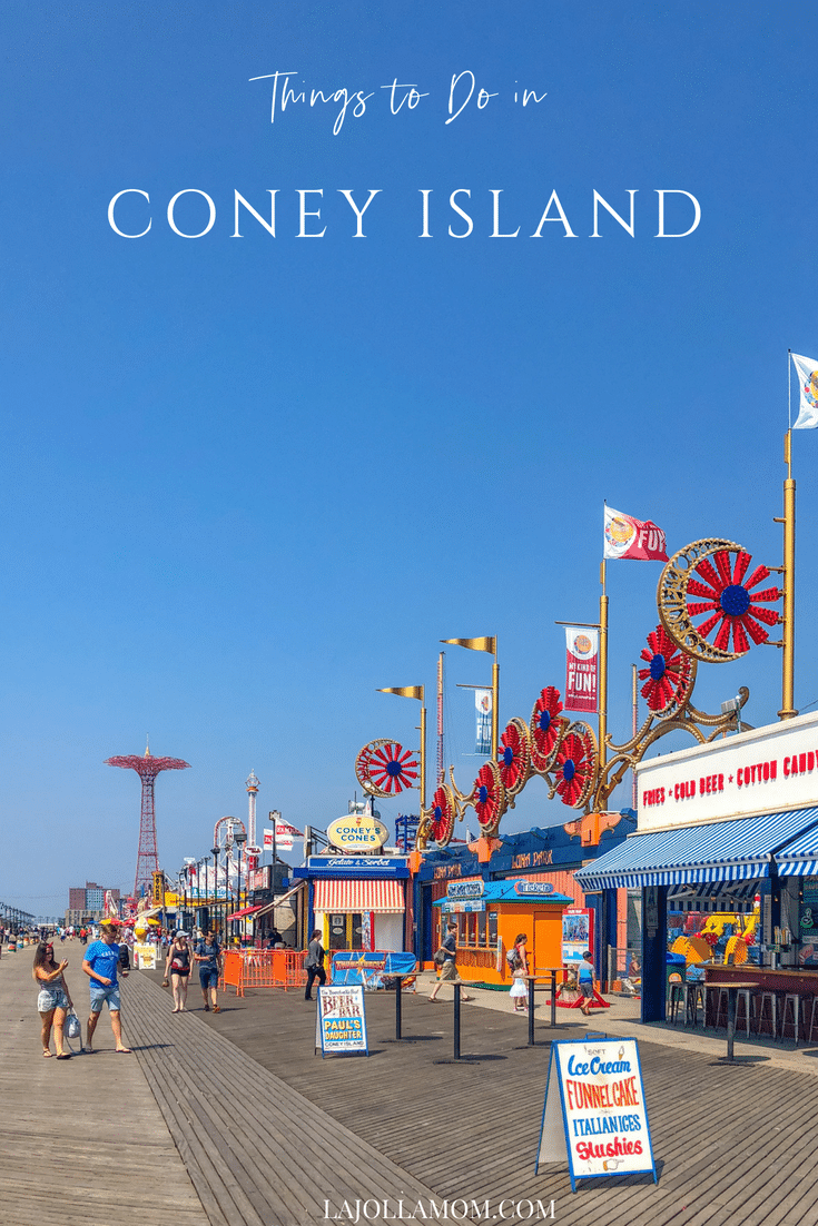 Fun Things To Do In Coney Island Today Rides Beach Food La Jolla Mom New York Vacation New York City Travel Visiting Nyc