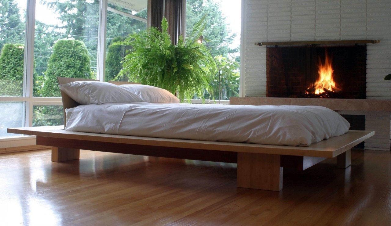 Platform Bed. $4,900.00, via Etsy.