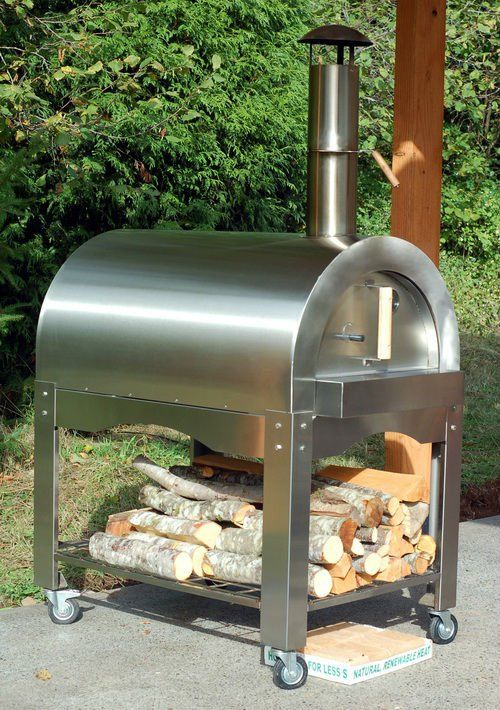 430 Stainless Steel Wood Fired Pizza Oven Brick Charcoal Product On Alibaba