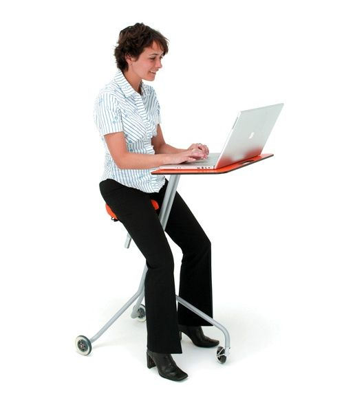 Amazing Gadget Of The Week Portable Laptop Table And Chair Tnooz Bralicious Painted Fabric Chair Ideas Braliciousco