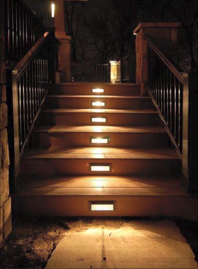 Best Deck Lights Outdoor Stair Lighting Outdoor Stairs Deck 400 x 300