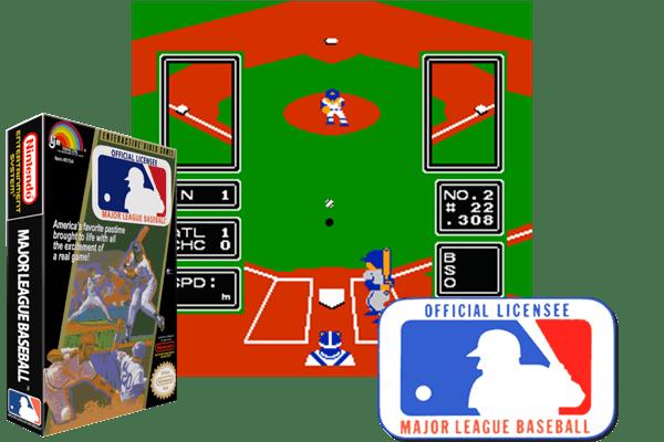 Major League Baseball Usa Rev A Nintendo Nes Classic Game