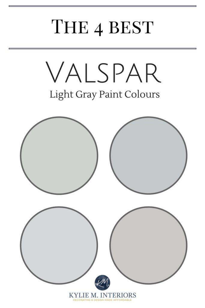 Valspar Paint 4 Best Light Gray Paint Colours Kylie M Interiors Light Grey Paint Colors Valspar Paint Colors Light Gray Paint