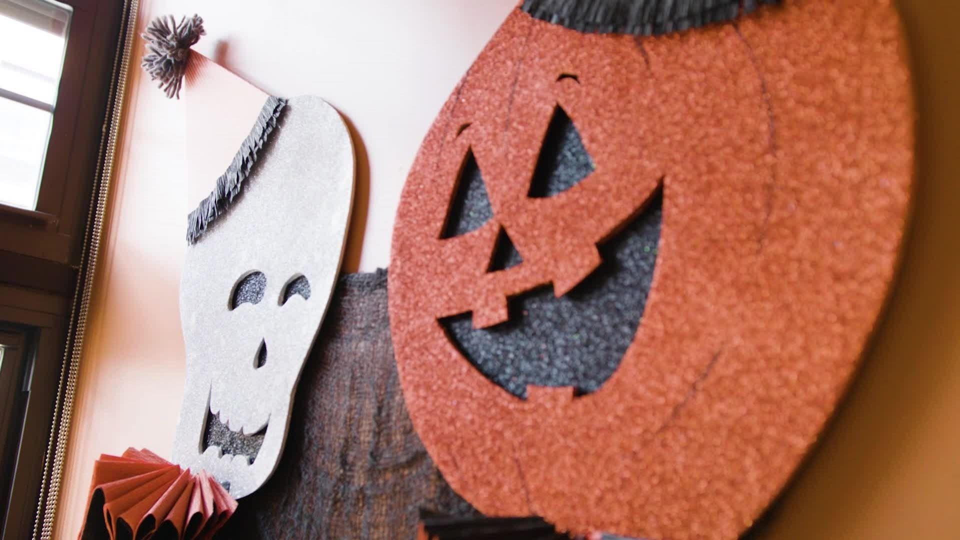 Image result for beaded wall art halloween decor pinterest