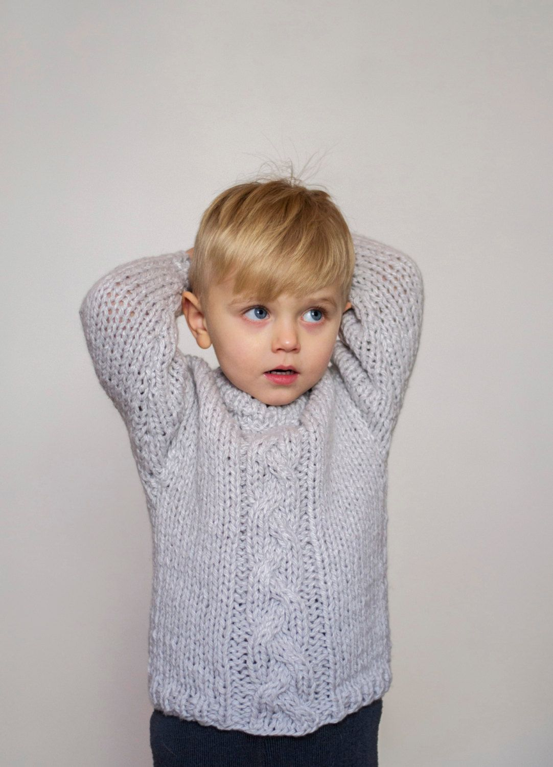 8bd99f41c Hand knit toddler sweater