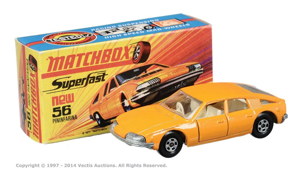 Matchbox Superfast No.56a BMC 1800 Pininfarina