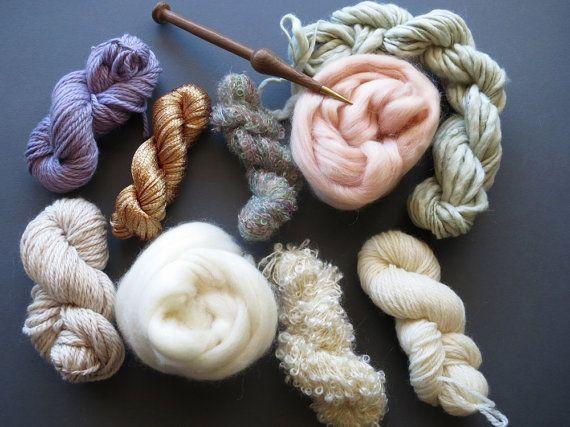Limitierte Auflage! Garne von Pack für stricken, häkeln, Weben oder Filzen…
