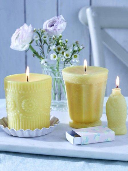 So Einfach Geht S Kerzen Mit Silikonabdruck Kerzen Selber