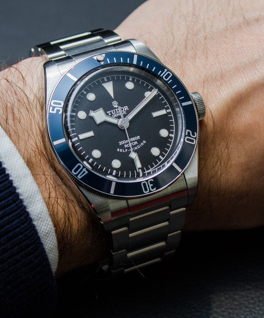 2014 Tudor Heritage Black Bay Blue 79220b Watch Hands On By