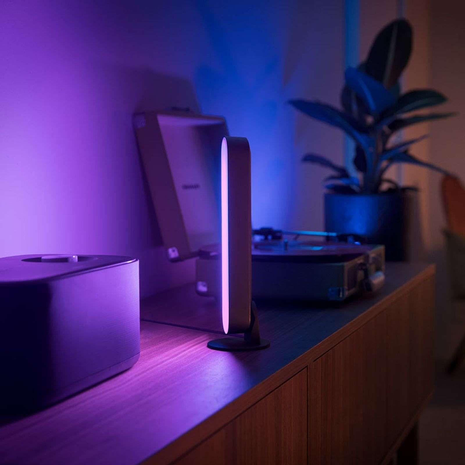 Philips Hue Play Lightbar duopack, zwart | Éclairage du bar