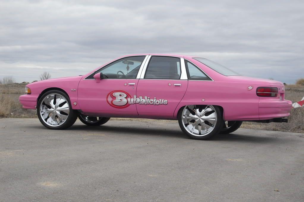 Custom Cars Donks Chevy Impala Ss Bubblicious Cars